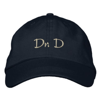 Dr. D Embroidered Baseball Cap