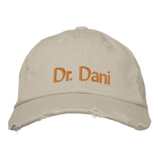 Dr. Dani Embroidered Hat