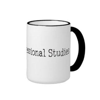 DR des études professionnelles Mug Ringer