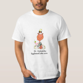 Dr. Dotnetsky,    Dr. DotnetskyEggheadCafe.com T-Shirt