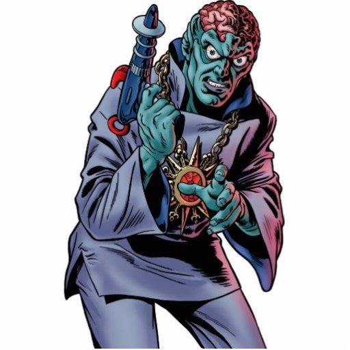 Dr. Evil Photo Sculpture