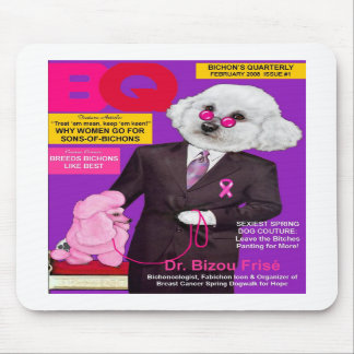 Dr. Frise on BQ Magazine Cover Mousepad