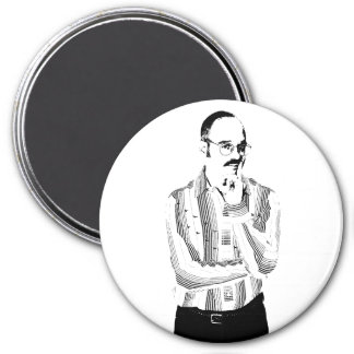 Dr. Funky Mustache Magnet