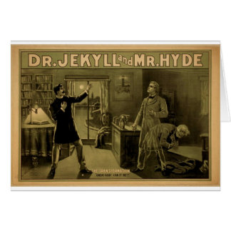 Dr.Jekyll and Mr.Hyde, 'The Transformation' Card