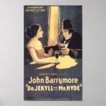 Dr. Jekyll et 1920) affiches de film de M. Hyde (