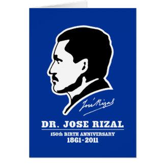 Dr. Jose Rizal @ 150th Birth Anniversary Souvenirs Card