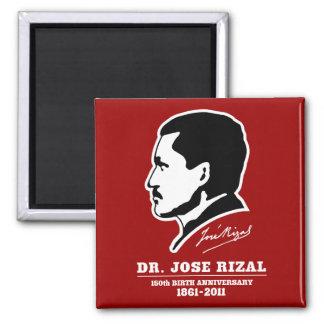 Dr. Jose Rizal @ 150th Birth Anniversary Souvenirs Square Magnet