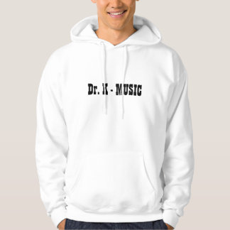Dr. K - MUSIC sweat-shirt de capuche Veste À Capuche