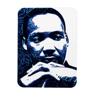 Dr. King in Blue Magnet