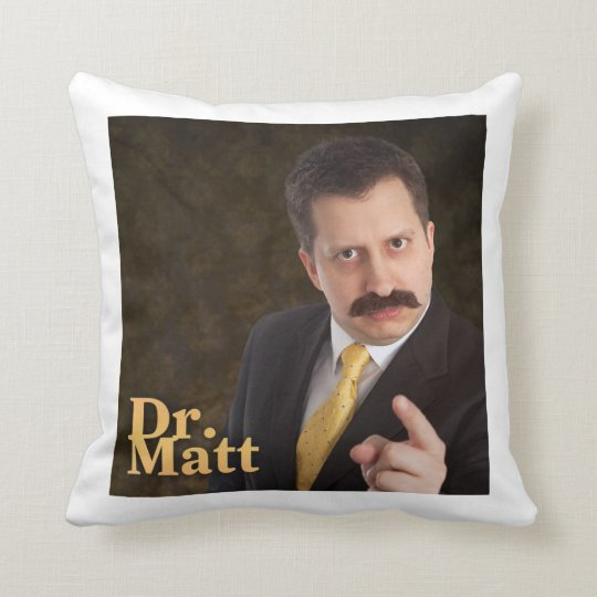 Dr. Matt's Face Pillow