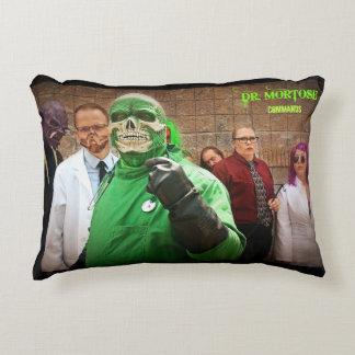 Dr. Mortose Commands cast pillow