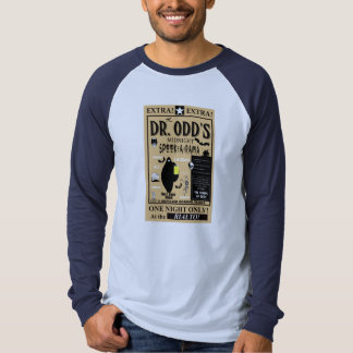 Dr. Odd's Spook Show Advertisement Tshirts