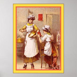 Dr. Price's Cream Baking Powder ~ 1880-1900 Poster