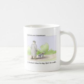 Dr. Roarshach Cartoon Gifts, Tees, & Collectibles Coffee Mug