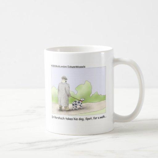 Dr. Roarshach Cartoon Gifts, Tees, & Collectibles Mug