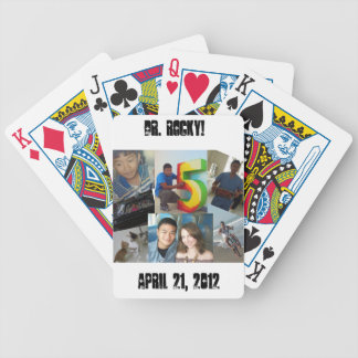 Dr Rocky deck 3 Bicycle Playing Cards
