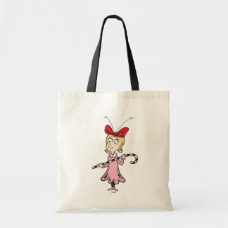 Dr. Seuss | Cindy-Lou Who - Holding Candy Cane Tote Bag