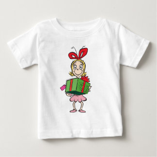 Dr. Seuss   Cindy-Lou Who - Holding Present Baby T-Shirt