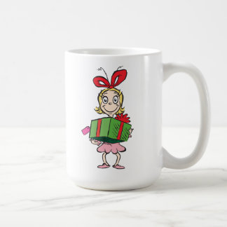 Dr. Seuss | Cindy-Lou Who - Holding Present Coffee Mug