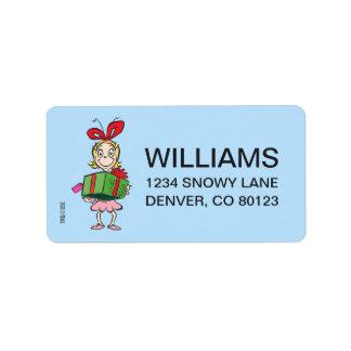Dr. Seuss | Cindy-Lou Who - Holding Present Label