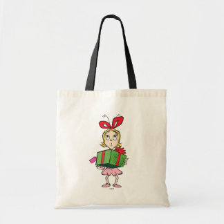 Dr. Seuss | Cindy-Lou Who - Holding Present Tote Bag