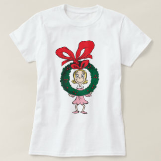 Dr. Seuss | Cindy-Lou Who - Wreath T-Shirt