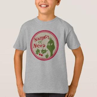 Dr. Seuss | le Grinch - vilain ou Nice ? T-shirt