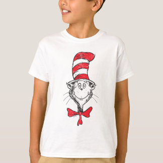 Dr. Seuss | The Cat in the Hat Head - Vintage T-Shirt