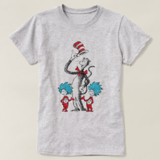 Dr. Seuss | The Cat in the Hat, Thing 1 & Thing 2 T-Shirt