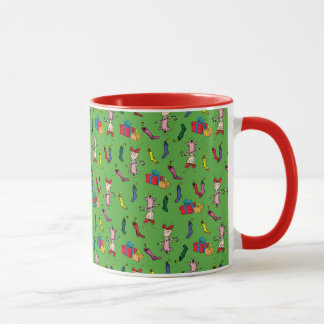 Dr Seuss | The Grinch | Cindy Lou Who Pattern Mug