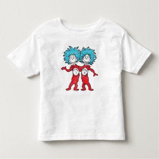 Dr. Seuss | Thing 1, Thing 2 Sitting Toddler T-shirt