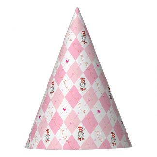 Dr. Seuss Valentine | Pink Argyle Cat in the Hat