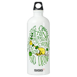 Dr. Seuss | Yink - St. Patrick's Day Water Bottle