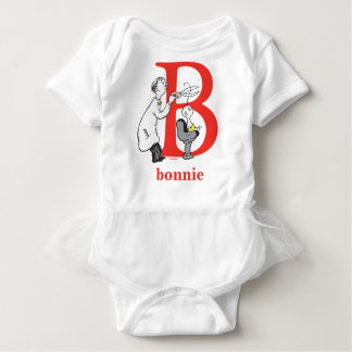 Dr. Seuss's ABC: Letter B - Red | Add Your Name Baby Bodysuit