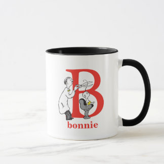 Dr. Seuss's ABC: Letter B - Red | Add Your Name Mug