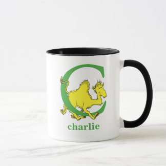 Dr. Seuss's ABC: Letter C - Green | Add Your Name Mug