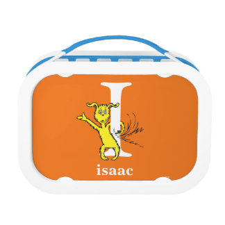 Dr. Seuss's ABC: Letter I - White | Add Your Name Lunchboxes