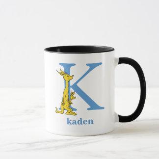 Dr. Seuss's ABC: Letter K - Blue | Add Your Name Mug