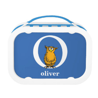 Dr. Seuss's ABC: Letter O - White | Add Your Name Lunchboxes