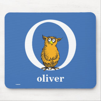 Dr. Seuss's ABC: Letter O - White   Add Your Name Mouse Pad