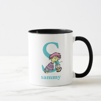 Dr. Seuss's ABC: Letter S - Blue | Add Your Name Mug