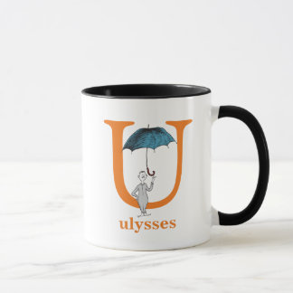 Dr. Seuss's ABC: Letter U - Orange | Add Your Name Mug