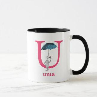 Dr. Seuss's ABC: Letter U - Pink | Add Your Name Mug