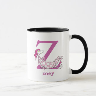 Dr. Seuss's ABC: Letter Z - Purple | Add Your Name Mug