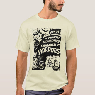 Dr Shivers Chamber of Horrors Spook Show Poster T-Shirt