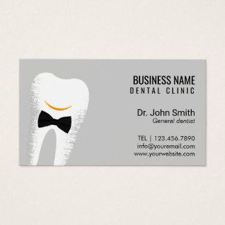 Dr. Smile Dentist Dental Clinic Appointment Business Card
