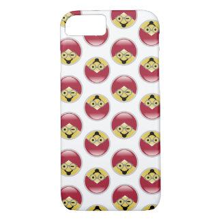 Dr. Social Media Wink Turban Emoji iPhone 8/7 Case