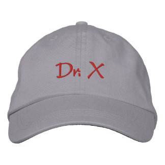 Dr. X Embroidered Baseball Cap