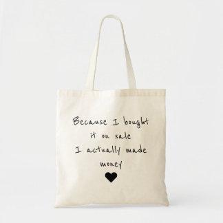 Draagtas satchel quotation sale I make money