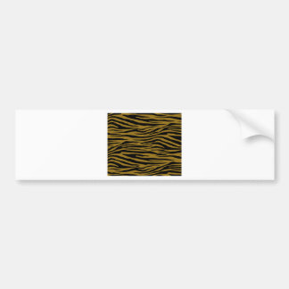 Drab Tiger Bumper Sticker